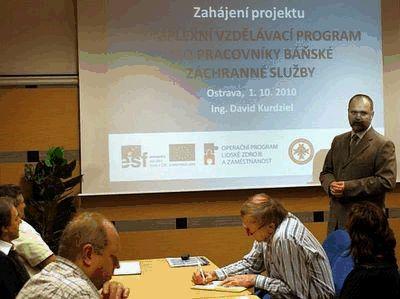 Zahájení vzdělávacího projektu