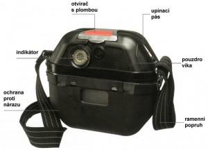 Kyslíkový sebezáchranný přístroj Dräger OXY 6000