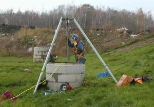 Báňská záchranná služba a skládky komunálního odpadu