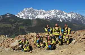 Mezinárodní součinnostní cvičení báňských záchranářů ERZBERG 2012