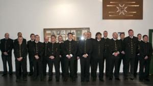 Vyznamenání báňských záchranářů v Ostravě
