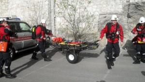 Záchranáři HBZS Ostrava na cvičení v Rakousku