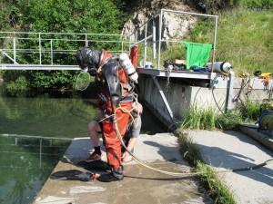 Letní výcvik záchranářů – potápěčů 2015