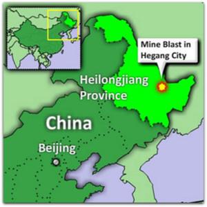 Záchranářská akce na dole Xuxiang v Číně