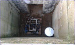 Záchranáři ZBZS Hamr v podzemí DORRu č. 1