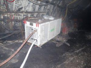 Zařízení pro chlazení plynného dusíku GCA
