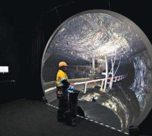 Využití 3D virtuální reality ve výcviku báňských záchranářů v australských černouhelných dolech